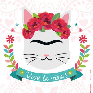 design graphique affiche recyclé frida