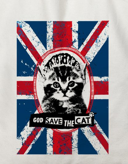 gros plan tote bag god save the cat