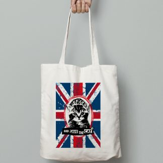 main tenant tote bag god save the cat