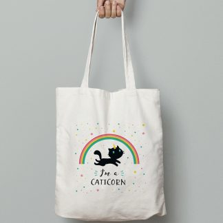 tote bag chat & licorne : le Caticorn